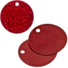 Sequins Hologram 40mm 4mm Hole Round Red